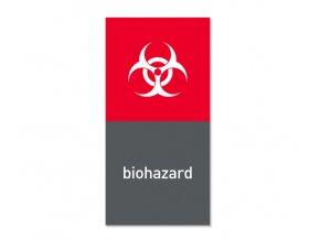 17120 simplehuman magneticky stitek na odpadkovy kos nebezpecny odpad biohazard