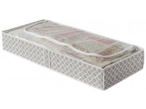 15710 nizky textilni ulozny box compactor madison 100 x 46 x 16 cm