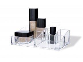 16973 organizer na kosmetiku compactor 8 prihradek ciry plast