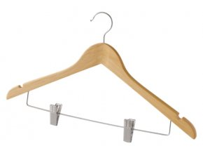 16646 raminko s klipy na kalhoty a sukne compactor z prirodniho dreva 44 5 cm