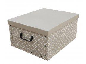 17126 skladaci ulozna krabice karton box compactor madison 50 x 40 x 25 cm