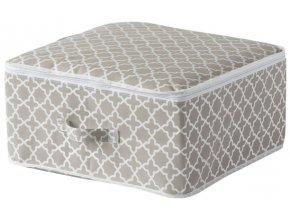 15707 textilni ulozny box na zip compactor madison 46x46x20 5 cm