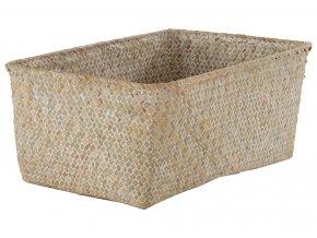 16700 ulozny kosik compactor kito rucne pleteny 30 x 20 x 13 cm bezovy
