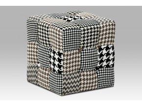 1085 taburet kostka latka cernobila patchwork kluzaky plast