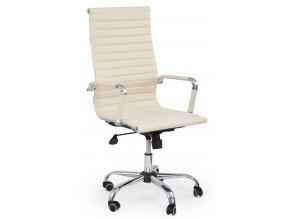 Kancelářská židle ADK Deluxe plus krémová