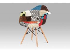 4163 jidelni zidle patchwork masiv buk