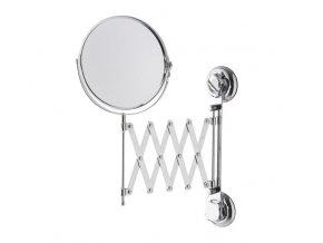 Kosmetické zrcadlo s výsuvným ramenem Compactor Bestlock - chrom 23,3/61 x 3 x 43 cm