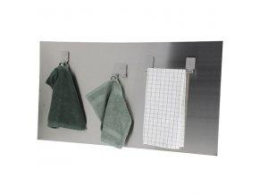Magnetická nerezová deska na kuchyňskou linku Compactor Memo Board - velká 50 x 90 cm