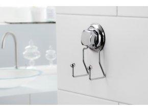 Dvojitý háček do kuchyně bez vrtání Compactor - Bestlock systém, nosnost až 6 kg