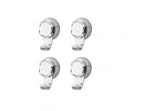 Malé háčky do kuchyně bez vrtání Compactor - Bestlock systém, nosnost až 6 kg, 4 ks