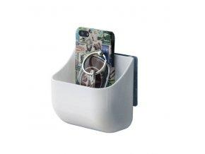 Oblý nástěnný organizér Compactor Hang IT - malý, samolepicí systém bez vrtání