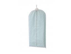 Pouzdro na oblek a krátké šaty Compactor Daman 60 x 100 cm, modro-bílé