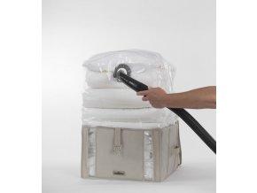 Compactor Life 2.0. vakuový úložný box s pouzdrem - M 125 litrů, 42 x 40 x 25 cm
