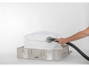 Compactor Life 2.0. vakuový úložný box s pouzdrem - L 145 litrů, 65 x 50 x 15,5 cm