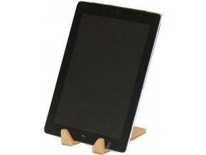 Držák na tablet Compactor Bamboo z bambusového dřeva - 9 x 12 x 13 cm