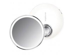 Kapesní kosmetické zrcátko Simplehuman Sensor Compact, LED osvětlení, dobíjecí, 3x, bílé