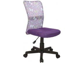 Mercury Dětská židle DINGO - barva fialová