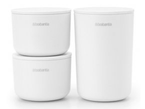 ReNew Storage Pots, set of 3 White 8710755281327 Brabantia 96dpi 1000x750px 7 NR 22050