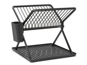 Foldable Dish Rack Dark Grey 8710755139406 Brabantia 96dpi 1000x750px 7 NR 23761