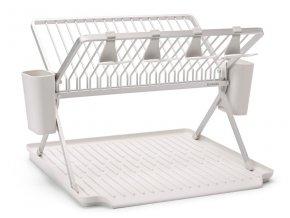 Foldable Dish Rack, Large Light Grey 8710755139444 Brabantia 96dpi 1000x750px 7 NR 23802
