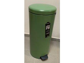Pedálový koš NewIcon 30L zelená II. jakost