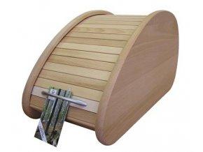 Chlebník dřevěný slza 200