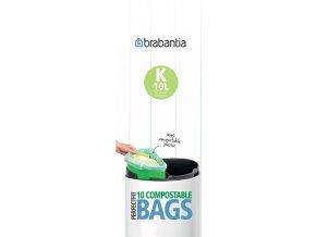 Kompostovatelné sáčky na odpad 10L