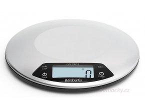 Digitální kuchyňská váha s minutkou oválná