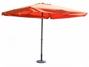 Slunečník kovový 8020 - 270x270cm terracota