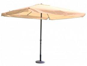 Slunečník kovový 8020 - 270x270cm béžový
