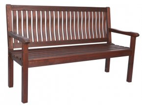 BOSTON lavice - tm.hnědá (FSC)