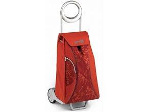 Nákupní taška na kolečkách MARKET QUEEN červená