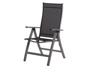 london chair textilen black s006 silver frame m17