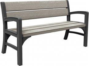 17204596 WOOD LOOK FEEL TRIPLE SEAT BENCH 6685 RGB