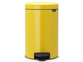 Pedálový koš NewIcon 12L žlutá