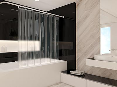 Sprchové závěsy PEVA