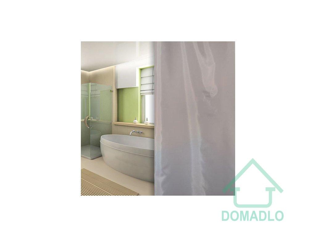 textilní sprchový závěs šedý W00160 domadlo