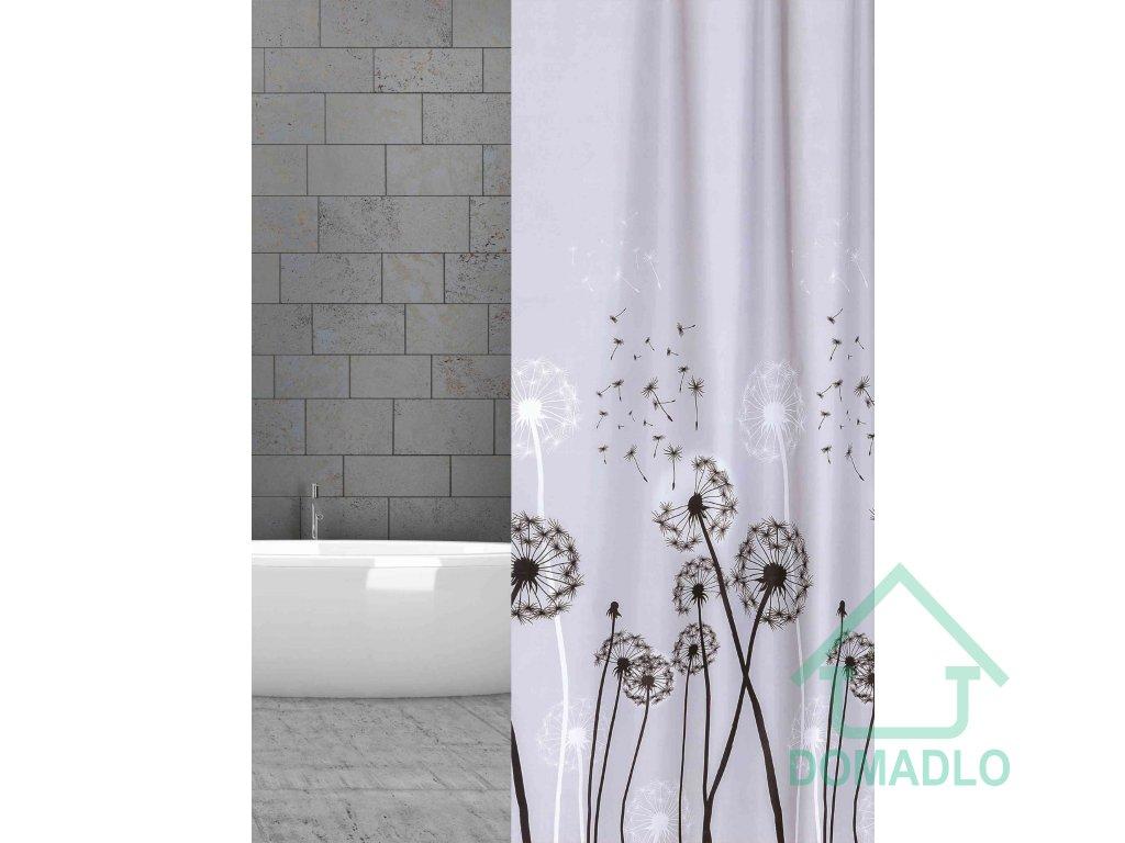 textilni záves ke sprše pampeliška w01234 Pusteblume
