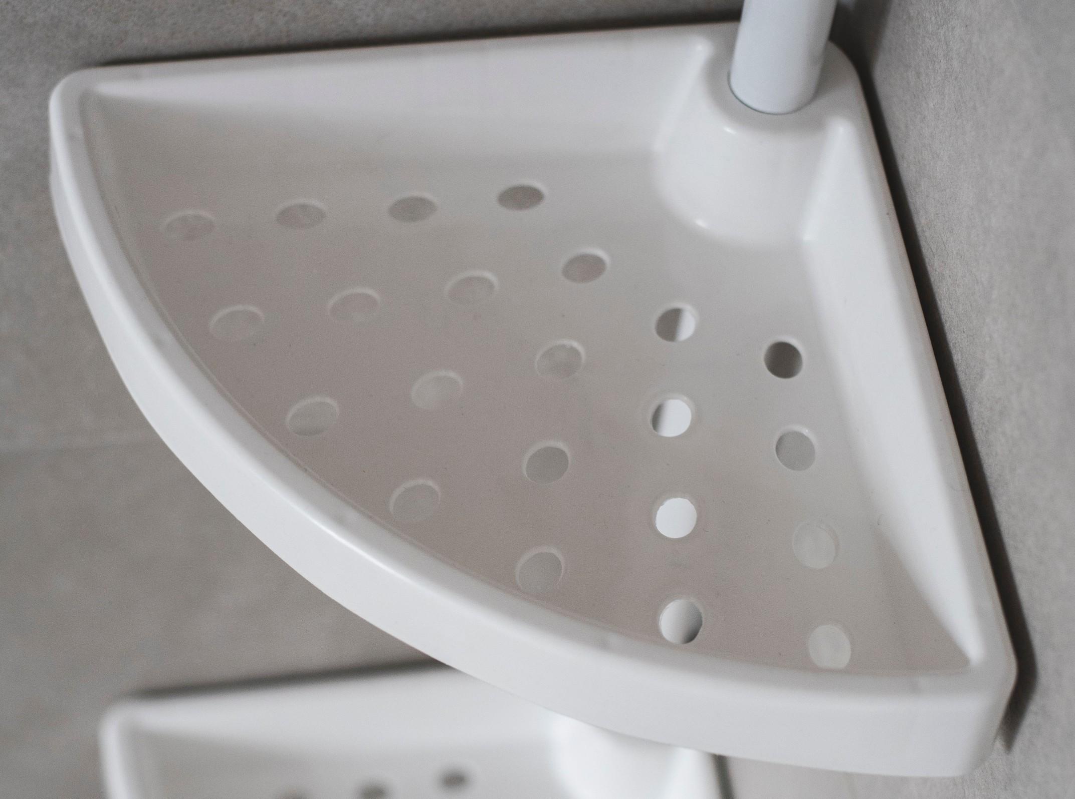 wela police do koupelny náhradní bílá