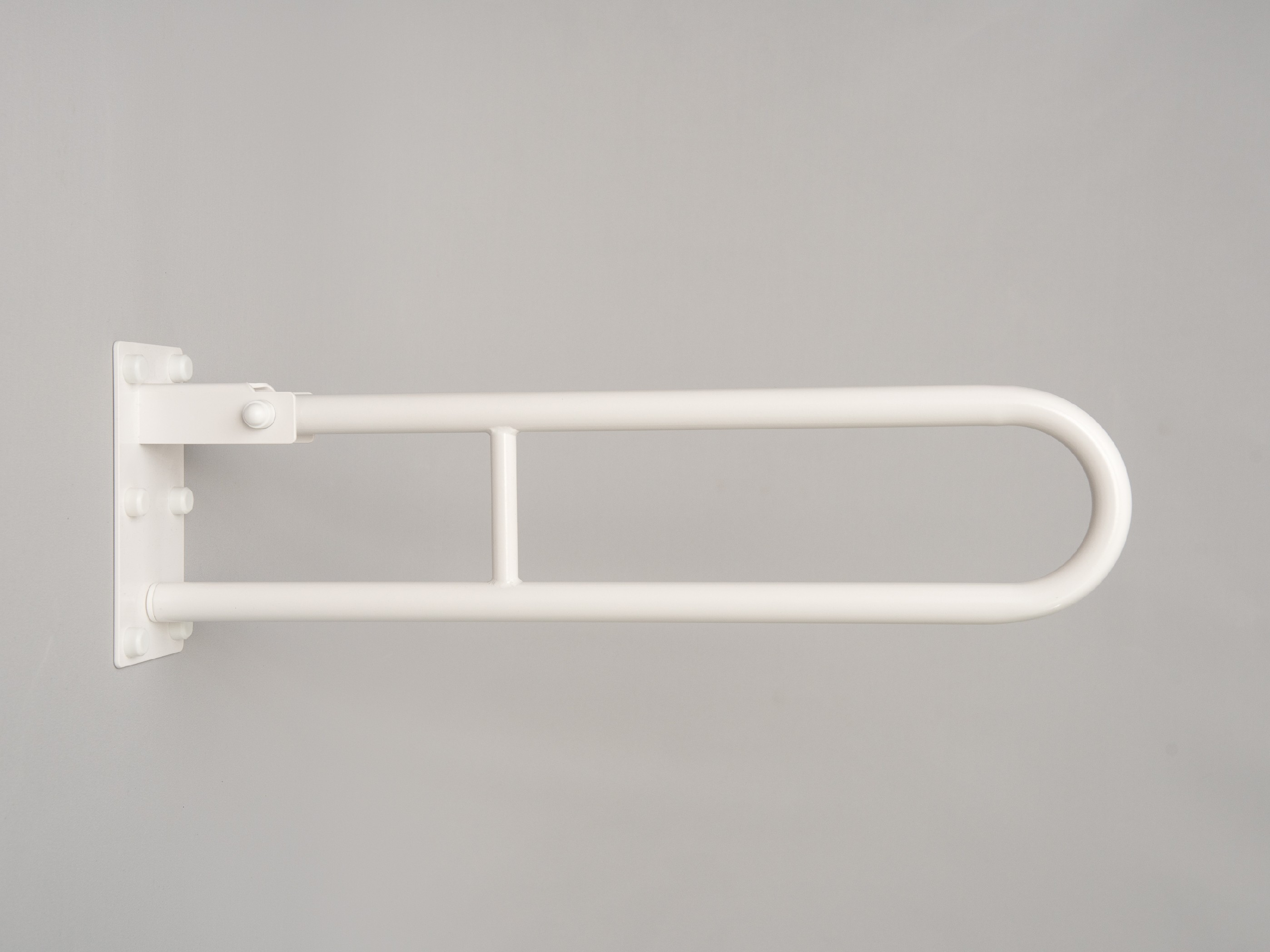 sklopné madlo k wc BÍLÉ PREMIUM Délka: 70 cm