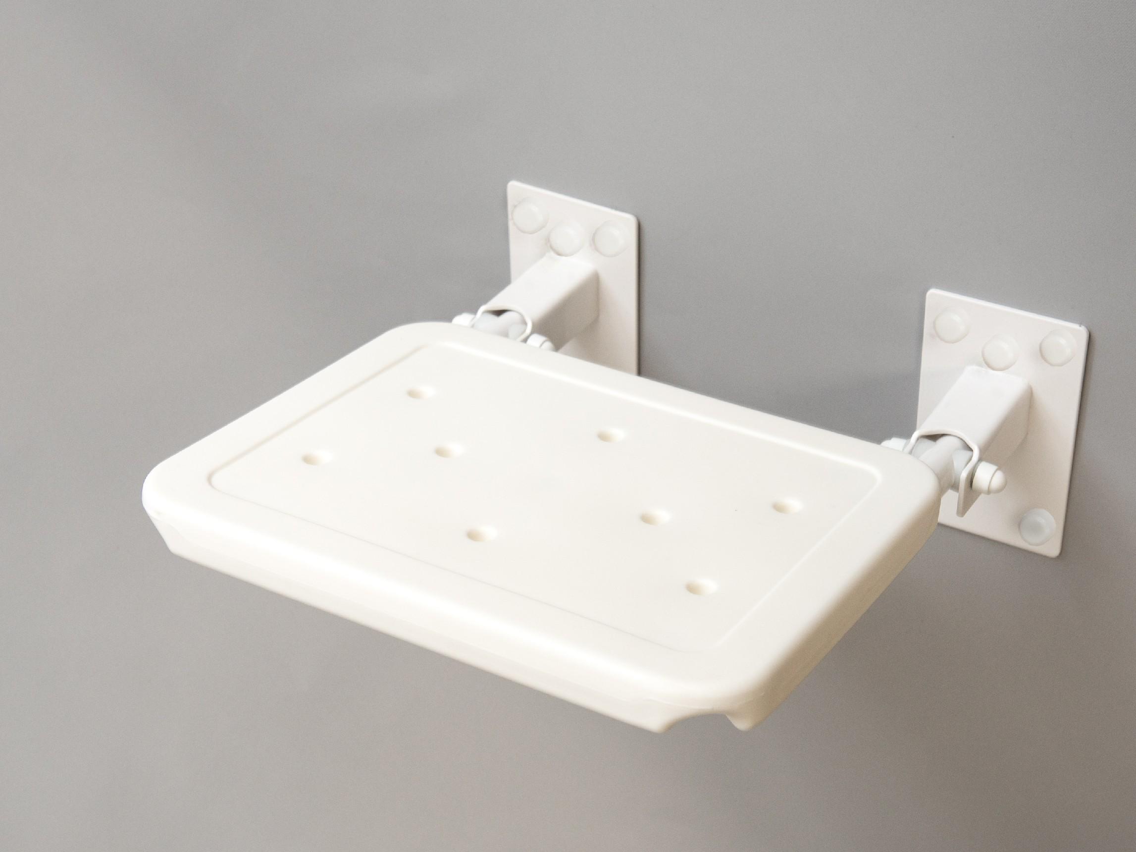 sprchové sedátko sklopné závěsné BÍLÉ COMPACT