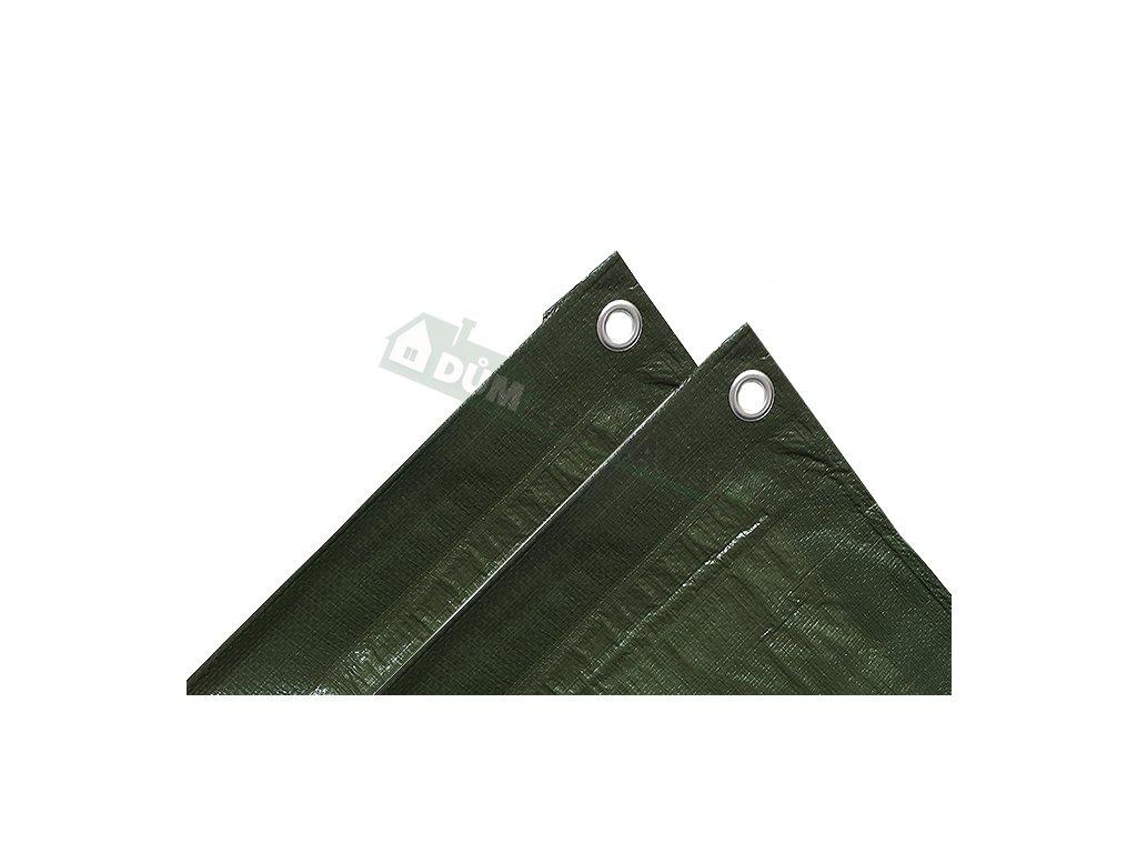 1910 kryci plachta 5x8 m 120 gramu zelena