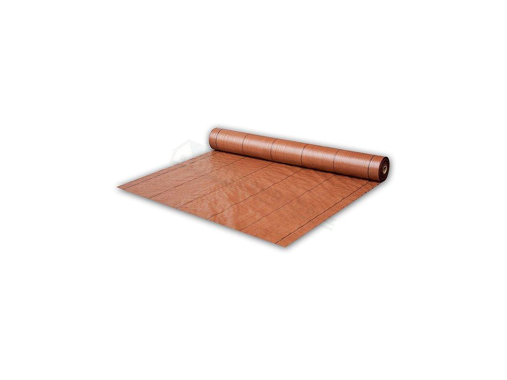 692 tkana mulcovaci textilie bradas hneda 70 gr 1 6x100m