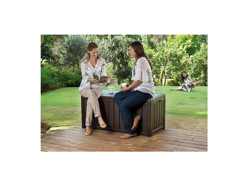341 keter glenwood brown zahradni box 390 l
