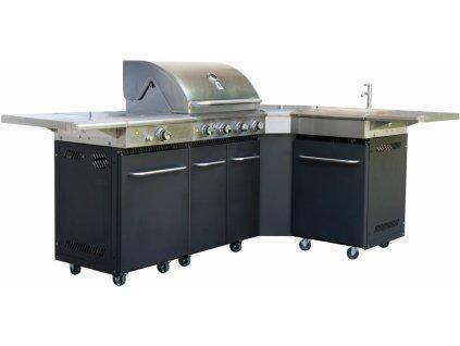 122 activa gril dallas profesionalni plynova grilovaci kuchyne 14 3 5 kw