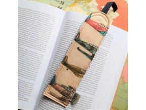 šitá záložka do knihy