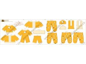 oblečky látková panenka žluté náhled shop 02