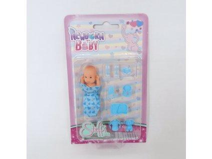 Miminko Steffi New Born Baby v modré