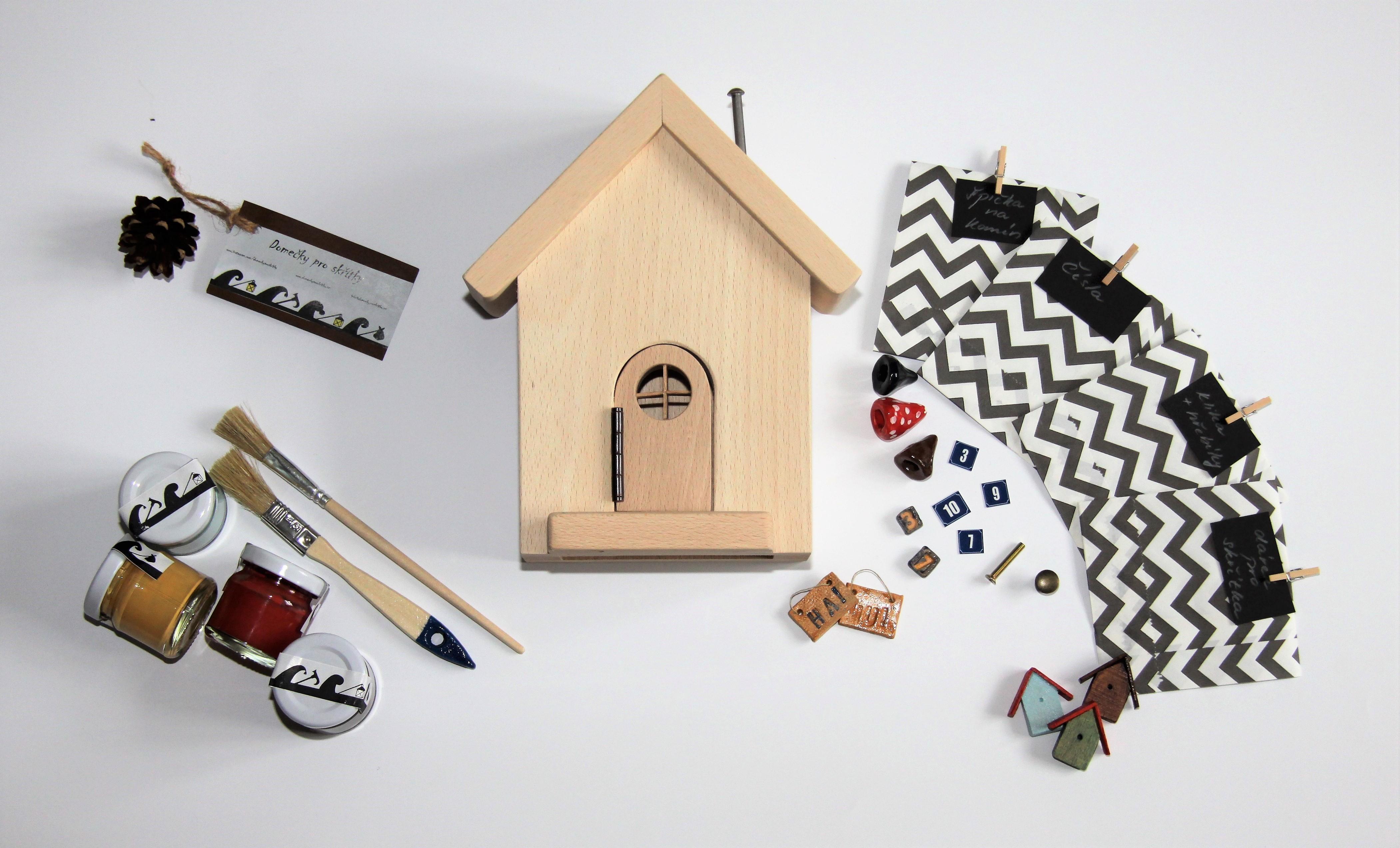 Tipy a triky jak omalovat DIY domeček, aby byl nejkrásnější:-)