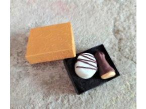 Čokoládová špička a laskonka